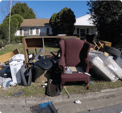 yard waste/storm clean up services